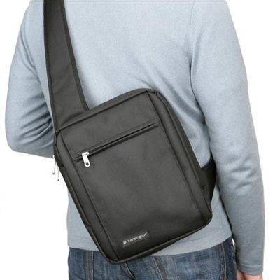 Image for KENSINGTON TABLET SLING BAG 10 INCH BLACK from Office National Perth CBD