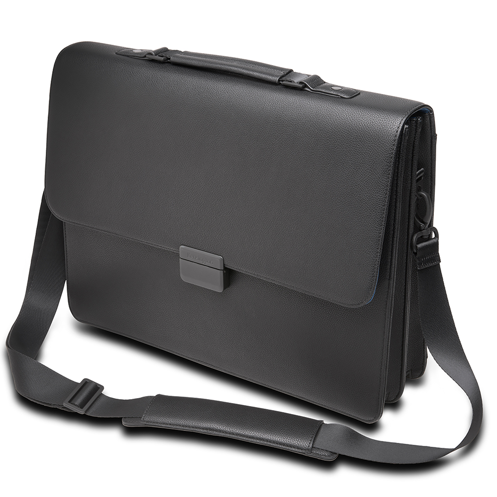 Image for KENSINGTON EXECUTIVE BRIEFCASE 15.6 INCH BLACK from Mackay Business Machines (MBM)