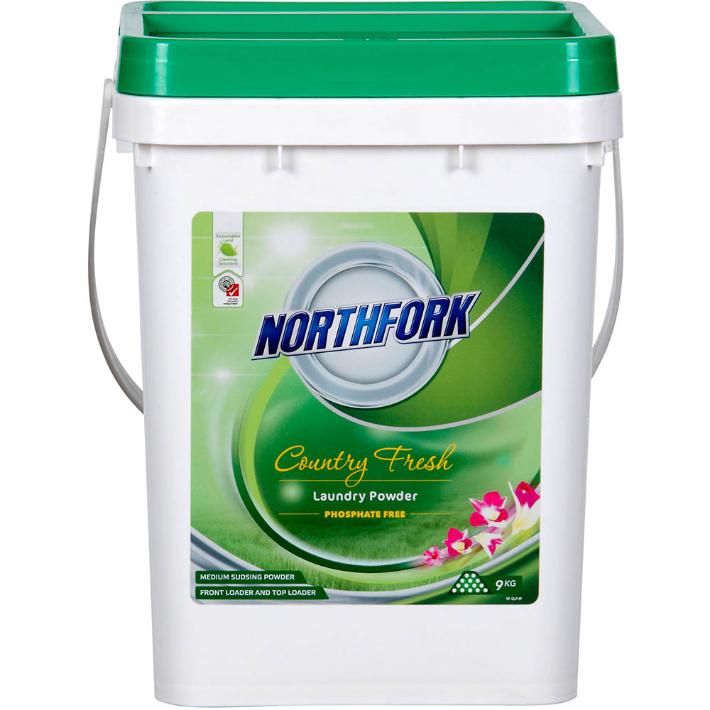 Image for NORTHFORK GECA LAUNDRY POWDER PHOSPHATE FREE 9KG from Exchange Printers Office National