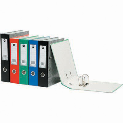 Image for MARBIG LEVER ARCH FILE 75MM A4 MOTTLE BLUE from Axsel Office National