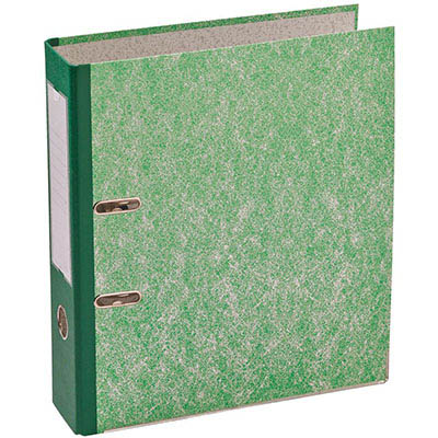 Image for MARBIG LEVER ARCH FILE 75MM A4 MOTTLE GREEN from Mackay Business Machines (MBM)