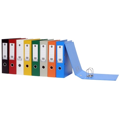 Image for MARBIG LEVER ARCH FILE PVC 75MM FOOLSCAP GREY from Mackay Business Machines (MBM)