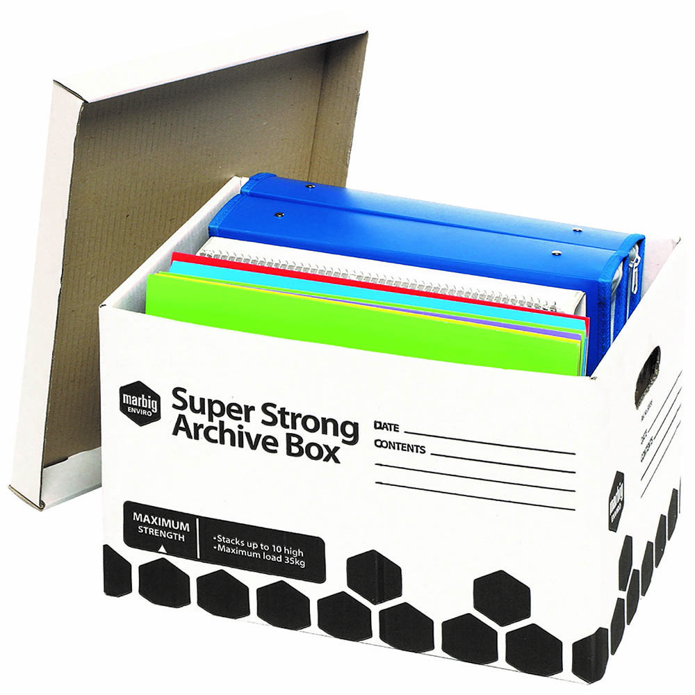 Image for MARBIG SUPER STRONG ARCHIVE BOX 320 X 420 X 260MM from Axsel Office National