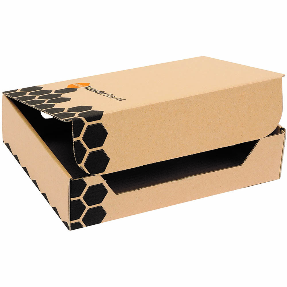 Image for MARBIG ENVIRO TRANSFER BOX A4 PACK 5 from Axsel Office National