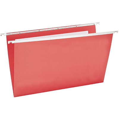 Image for MARBIG SUSPENSION FILES FOOLSCAP RED BOX 50 from Paul John Office National