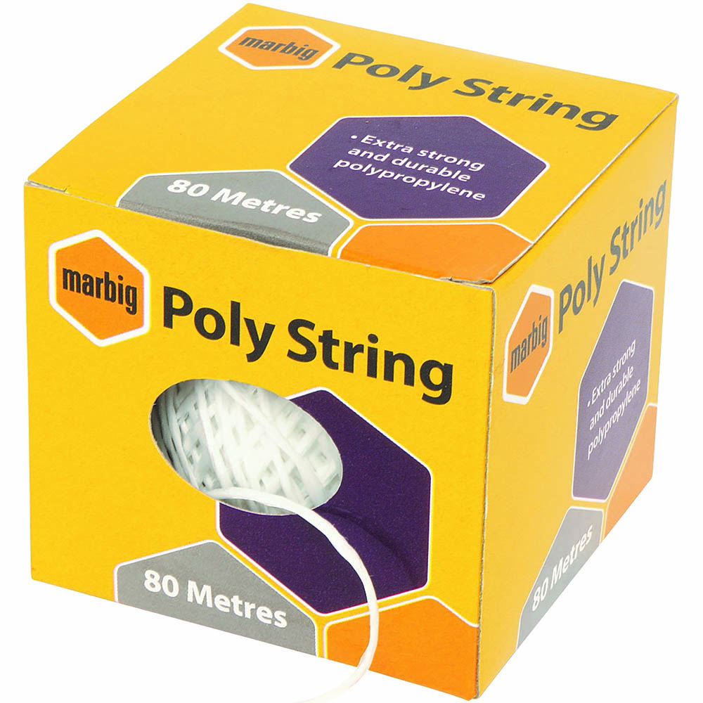 Image for MARBIG POLYSTRING 80M from Paul John Office National