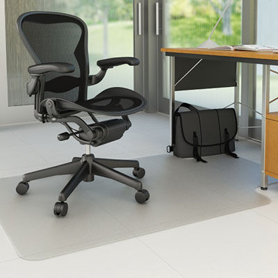 Image for MARBIG CHAIRMAT PVC HARD FLOOR KEYHOLE 910 X 1210MM from Pirie Office National