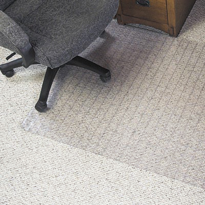 Image for MARBIG DURAMAT CHAIRMAT GRID PATTERN PVC CARPET 1140 X 1340MM from Australian Stationery Supplies Office Products Dep