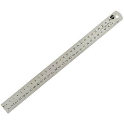 Image for MARBIG RULER STAINLESS STEEL 600MM from Office National Capalaba