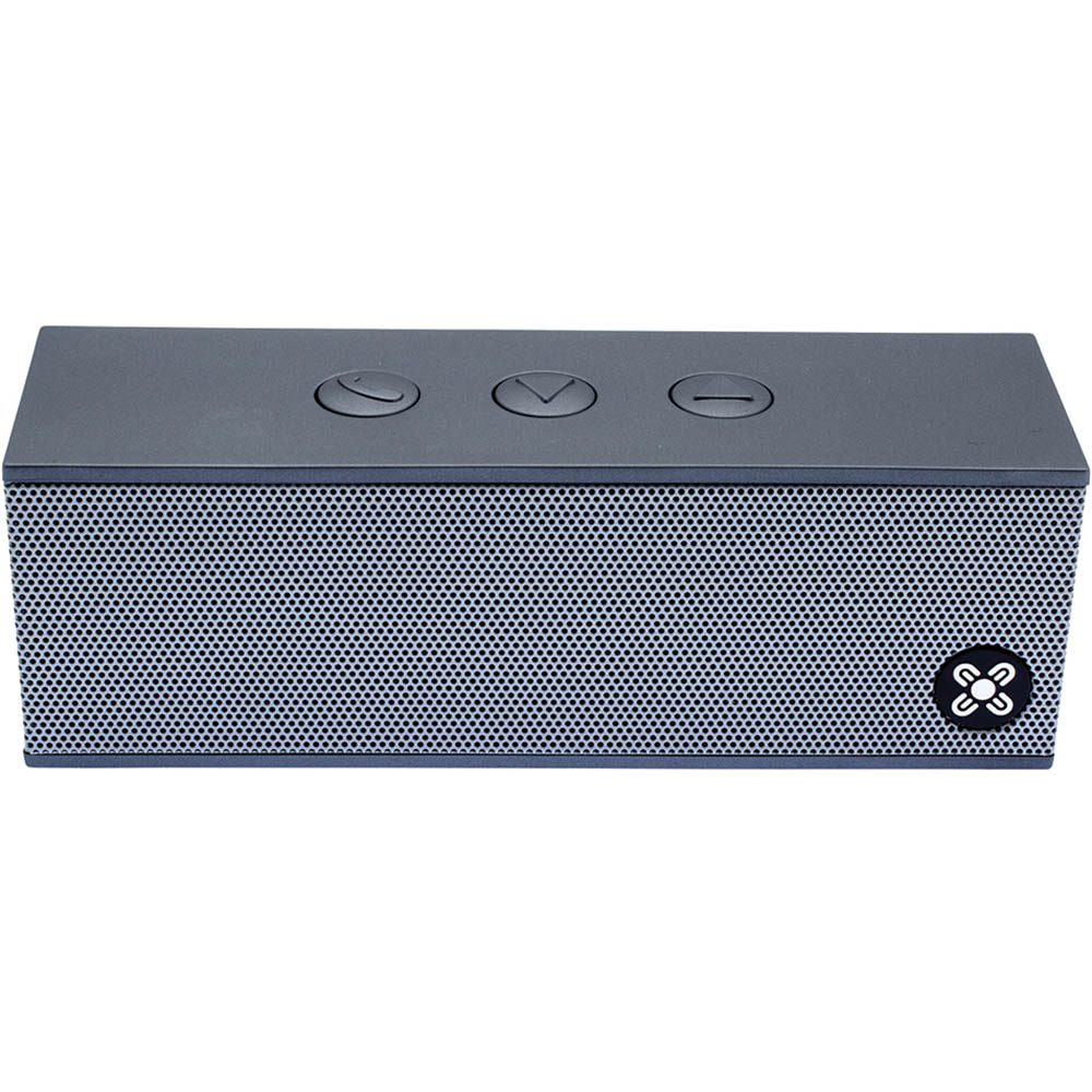 Image for MOKI BASSBOX PORTABLE WIRELESS SPEAKER PLATINUM from Office National Sydney Stationery