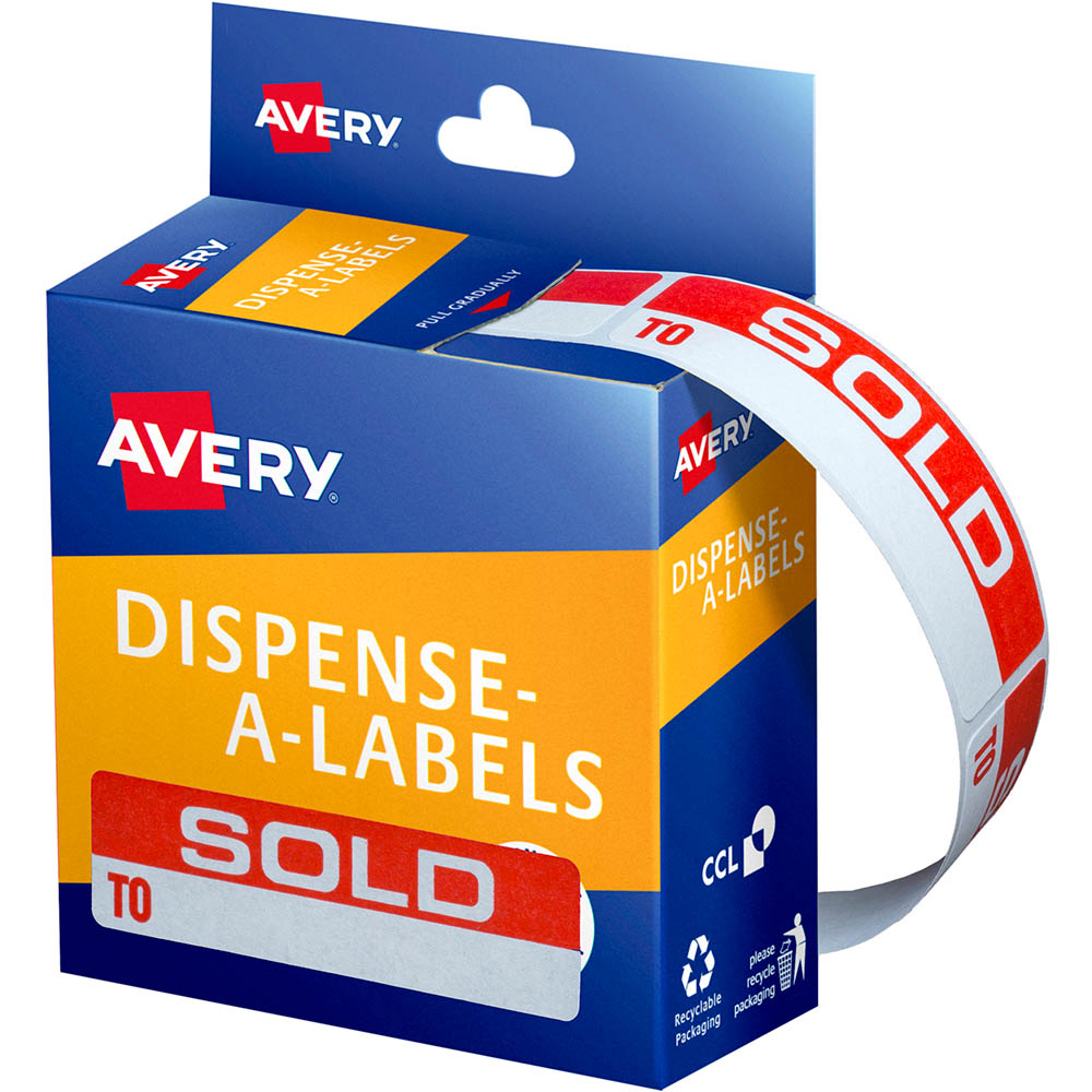 Image for AVERY 937253 MESSAGE LABELS SOLD TO 19 X 64MM BOX 125 from Office National Barossa