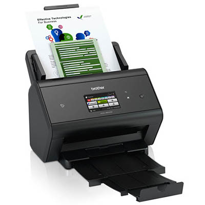 Image for BROTHER ADS-3600W WIRELESS DESKTOP DOCUMENT SCANNER from Paul John Office National