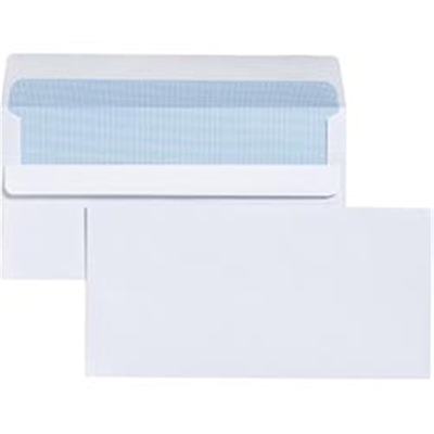 Image for CUMBERLAND DL ENVELOPES WALLET PLAINFACE SELF SEAL EASY OPEN 80GSM 110 X 220MM WHITE BOX 500 from Mackay Business Machines (MBM)