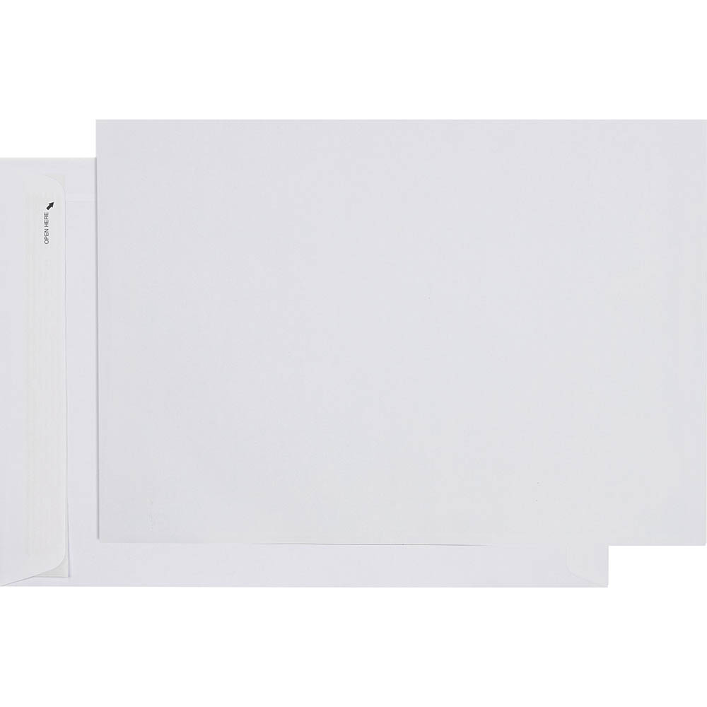 Image for CUMBERLAND C4 ENVELOPES POCKET PLAINFACE STRIP SEAL EASY OPEN 80GSM 324 X 229MM WHITE BOX 250 from Paul John Office National