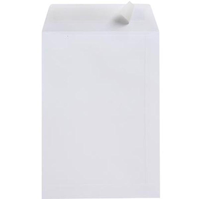 Image for CUMBERLAND C4 ENVELOPES POCKET PLAINFACE STRIP SEAL 100GSM 324 X 229MM WHITE PACK 25 from Paul John Office National