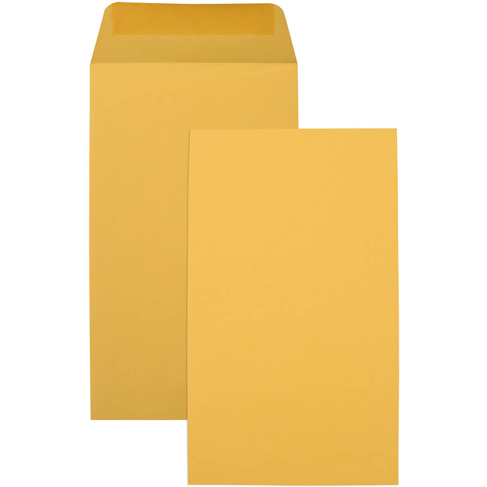 Image for CUMBERLAND P4 ENVELOPES SEED POCKET PLAINFACE MOIST SEAL 85GSM 107 X 60MM GOLD BOX 1000 from Office National Capalaba