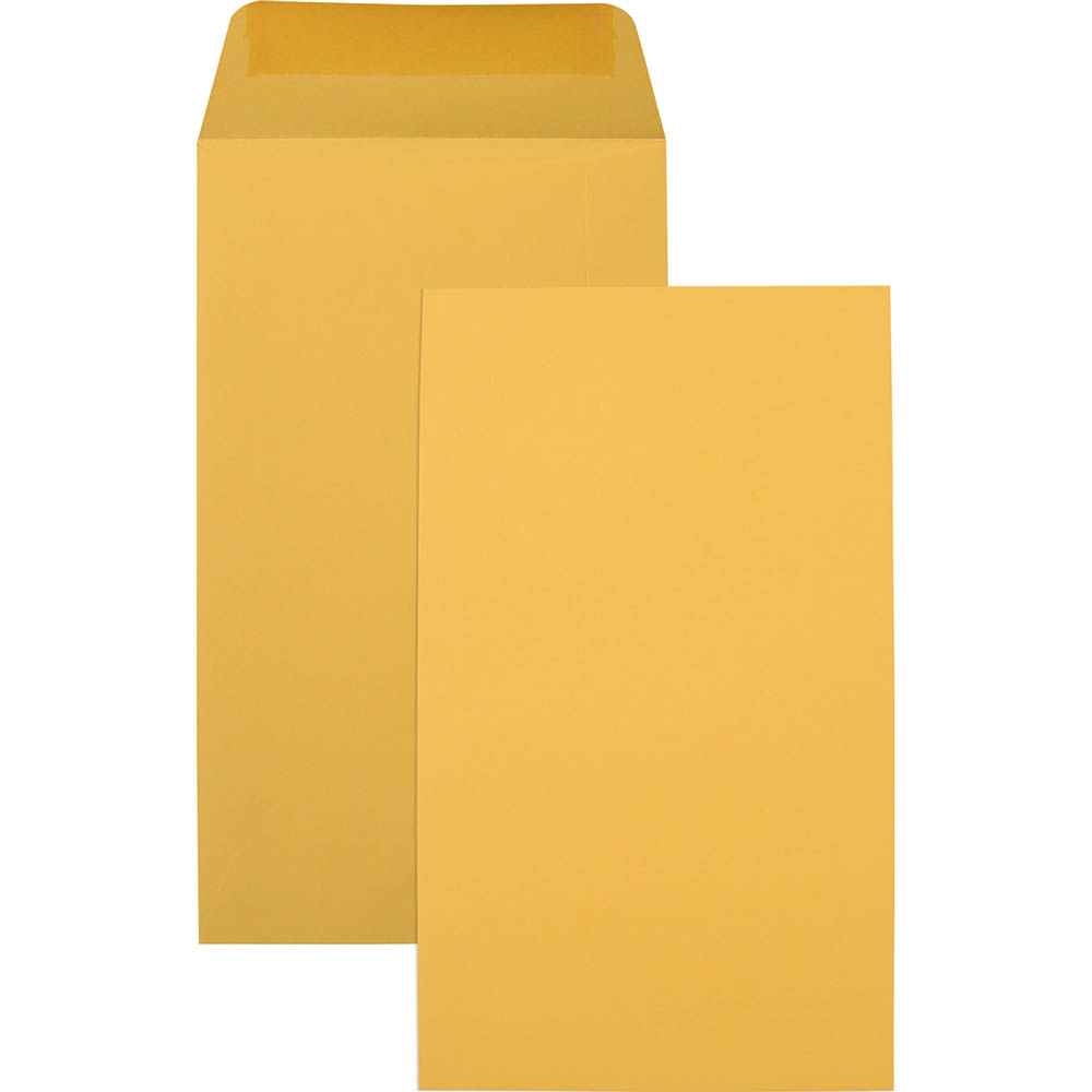 Image for CUMBERLAND P5 ENVELOPES SEED POCKET PLAINFACE MOIST SEAL 85GSM 120 X 65MM GOLD BOX 1000 from Surry Office National