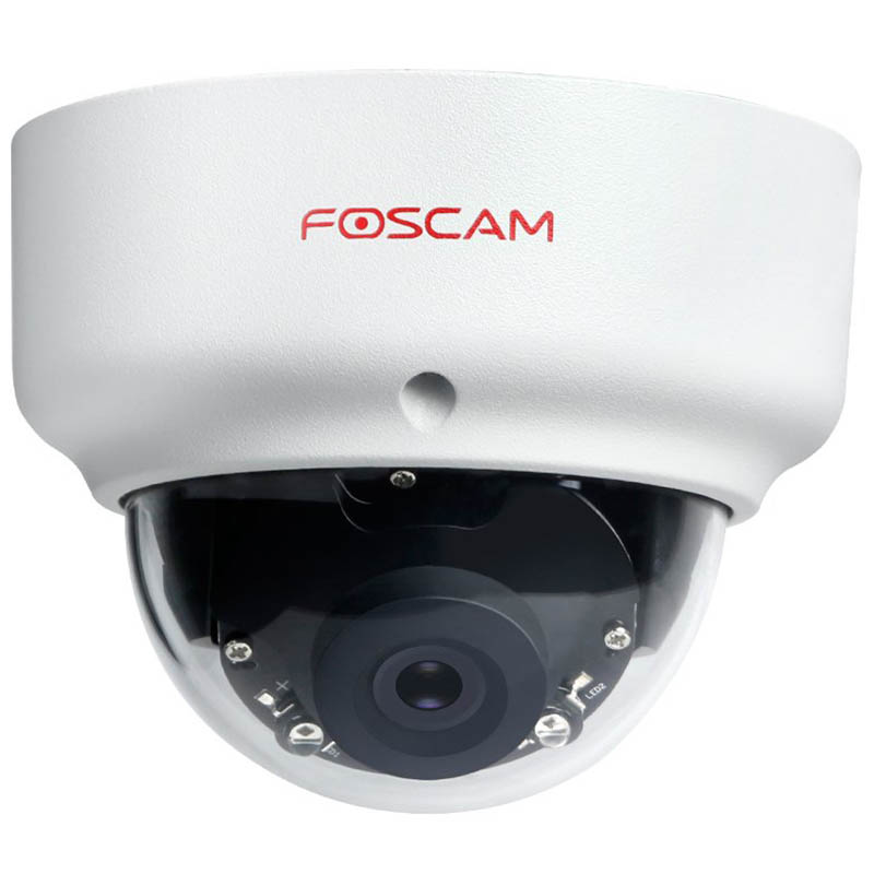 Image for FOSCAM FI9961EP OUTDOOR HD VANDAL-PROOF DOME SURVEILLANCE CAMERA WHITE from Wetherill Park / Smithfield Office National