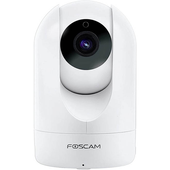 Image for FOSCAM R2 INDOOR FHD PAN TILT WIRELESS SURVEILLANCE CAMERA WHITE from Wetherill Park / Smithfield Office National