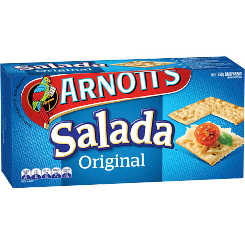 Image for ARNOTTS BISCUITS SALADA 250GM from Aztec Office National Melbourne
