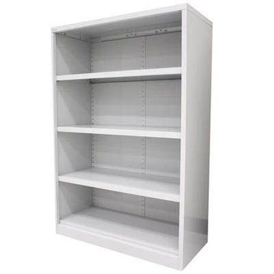 Image for STEELCO OPEN BOOKCASE 3 SHELF 1200 X 900 X 400MM SILVER GREY from Office National Perth CBD