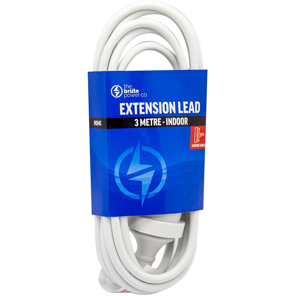 Image for THE BRUTE POWER CO EXTENSION LEAD 3 METRE from Office National Capalaba