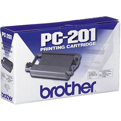 Image for BROTHER PC201 FAX CARTRIDGE AND ROLL from Surry Office National