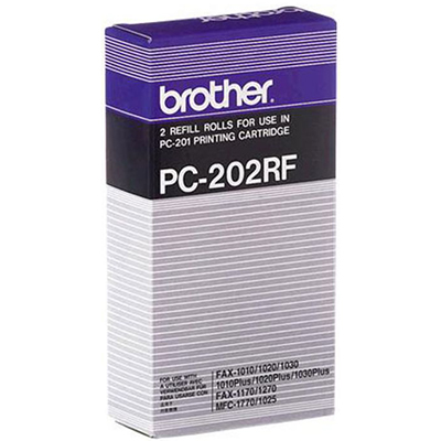 Image for BROTHER PC202RF FAX REFILL ROLL PACK 2 from Surry Office National