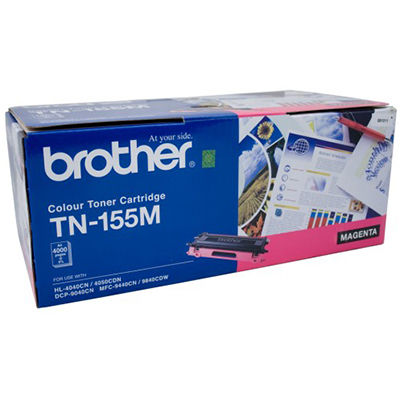 Image for BROTHER TN155M TONER CARTRIDGE MAGENTA from Wetherill Park / Smithfield Office National