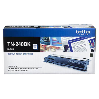 Image for BROTHER TN240BK TONER CARTRIDGE BLACK from Wetherill Park / Smithfield Office National