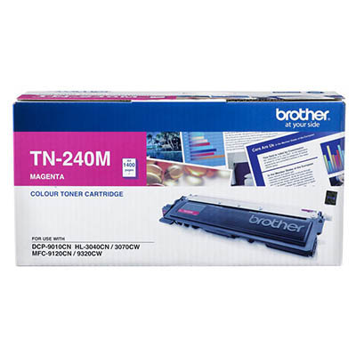 Image for BROTHER TN240M TONER CARTRIDGE MAGENTA from Wetherill Park / Smithfield Office National