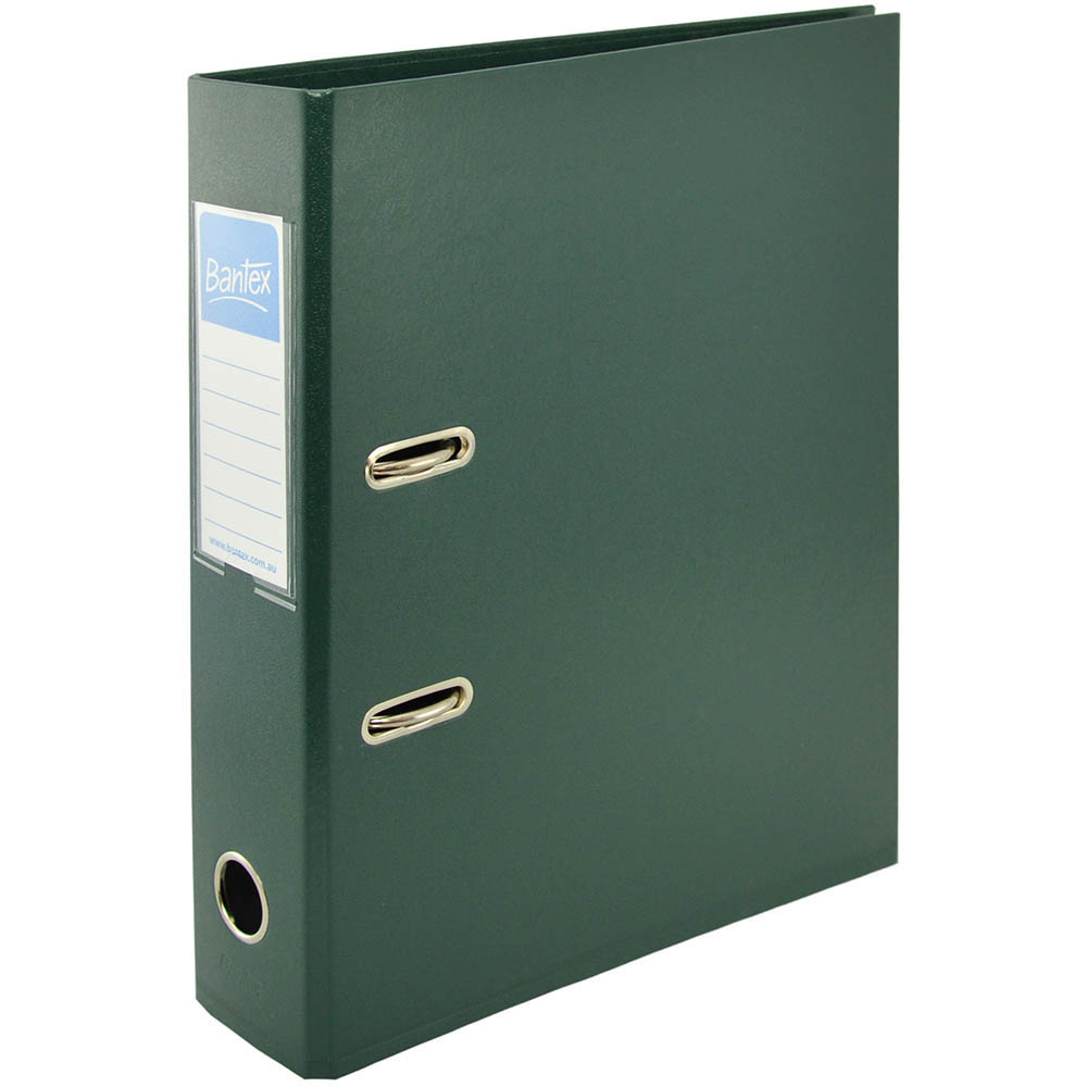 Image for BANTEX LEVER ARCH FILE 70MM A4 GREEN from Office National Perth CBD