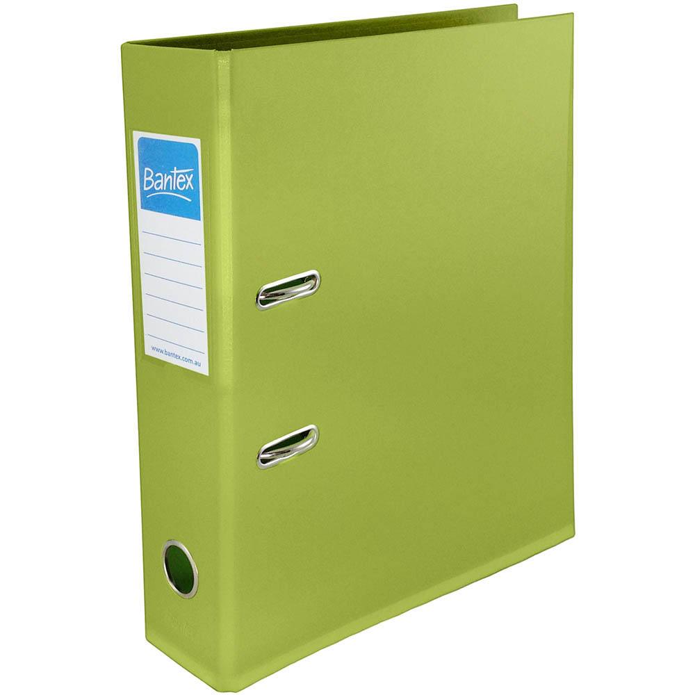 Image for BANTEX LEVER ARCH FILE 70MM A4 OLIVE GREEN from Office National Perth CBD
