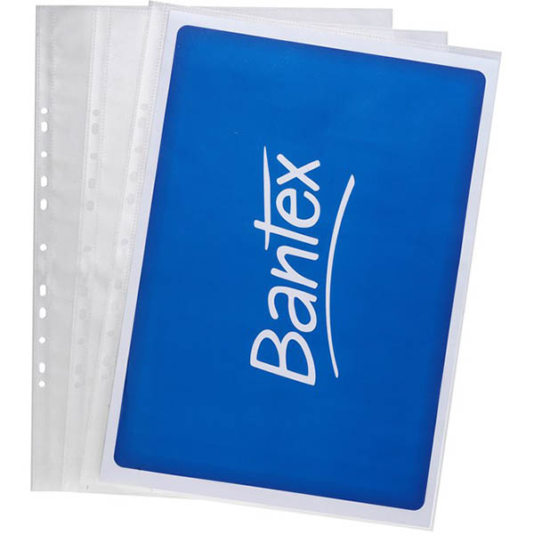Image for BANTEX TOUGH SHEET PROTECTORS 120 MICRON A3 CLEAR PACK 25 from Paul John Office National