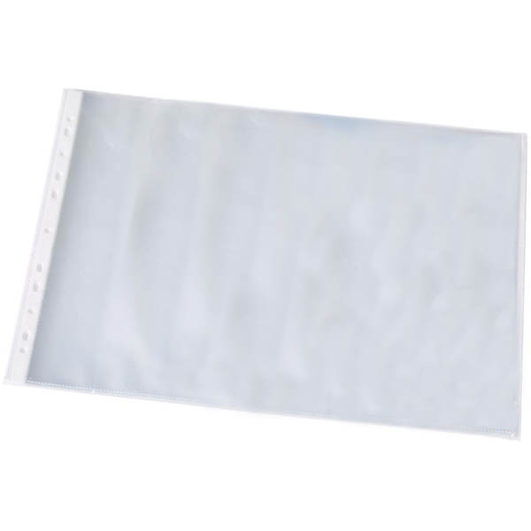 Image for BANTEX HEAVY DUTY SHEET PROTECTOR LANDSCAPE 125 MICRON A3 CLEAR PACK 25 from Ezi Office National Tweed