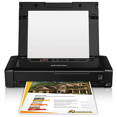 Image for EPSON WF-100 WORKFORCE MOBILE INKJET PRINTER A4 from The Paper Bahn Office National