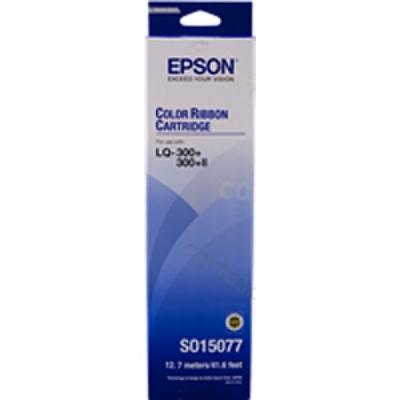Image for EPSON C13S015077 PRINTER RIBBON BLACK from Pirie Office National