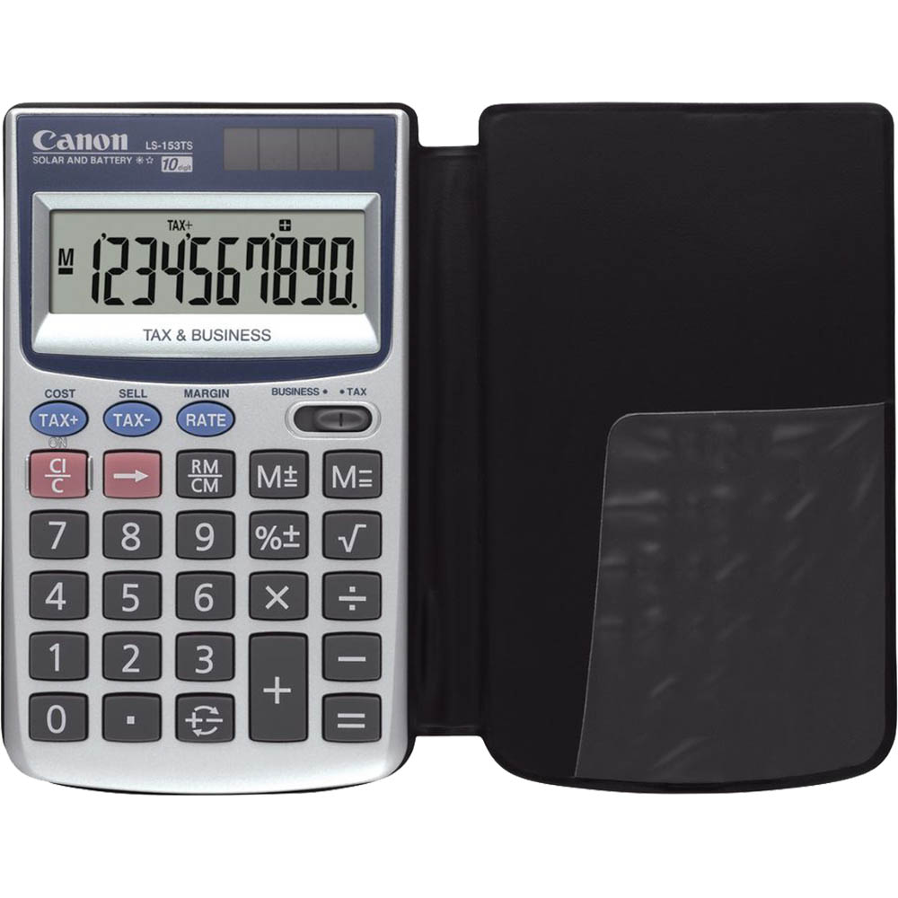 Image for CANON LS153TS 10 DIGIT TAX BUSINESS FUNCTION WALLET from Pirie Office National
