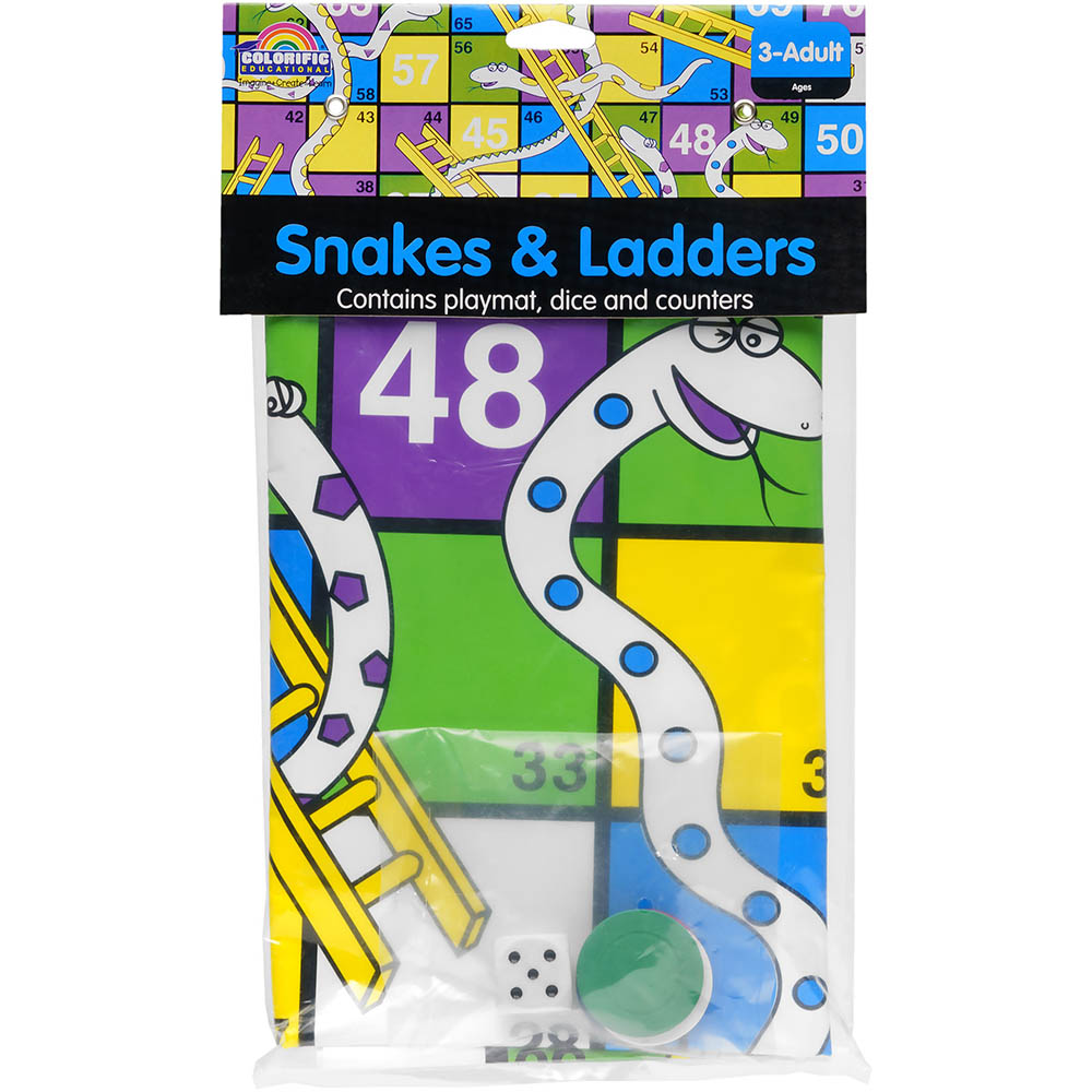 Image for COLORIFIC SNAKES AND LADDERS GAME from Wetherill Park / Smithfield Office National