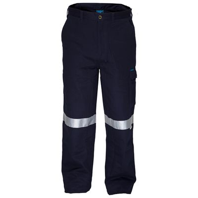 Image for PRIME MOVER MW701 COTTON DRILL PANTS FLAME RETARDANT WITH REFLECTIVE TAPE from Our Town & Country Office National