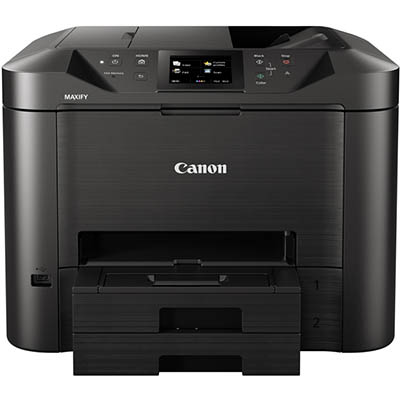 Image for CANON MB5460 MAXIFY INKJET PRINTER MULTIFUNCTION COLOUR WIFI A4 20PPM from The Paper Bahn Office National