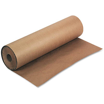 Image for RAINBOW CLUB ROLL 70GSM 500MM X 60M KRAFT BROWN from Exchange Printers Office National