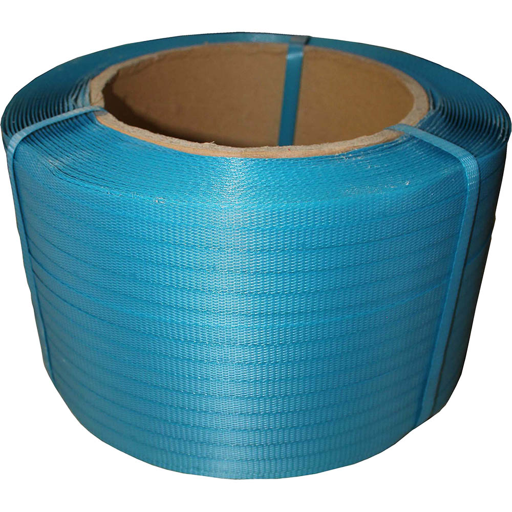 Image for CUMBERLAND POLYPROPYLENE STRAPPING 12MM X 3000M BLUE from Pirie Office National