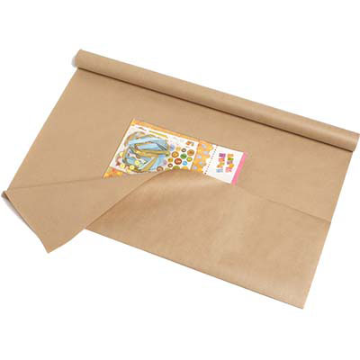 Image for CUMBERLAND KRAFT WRAPPING PAPER 600MM X 10M BOX 40 from Wetherill Park / Smithfield Office National