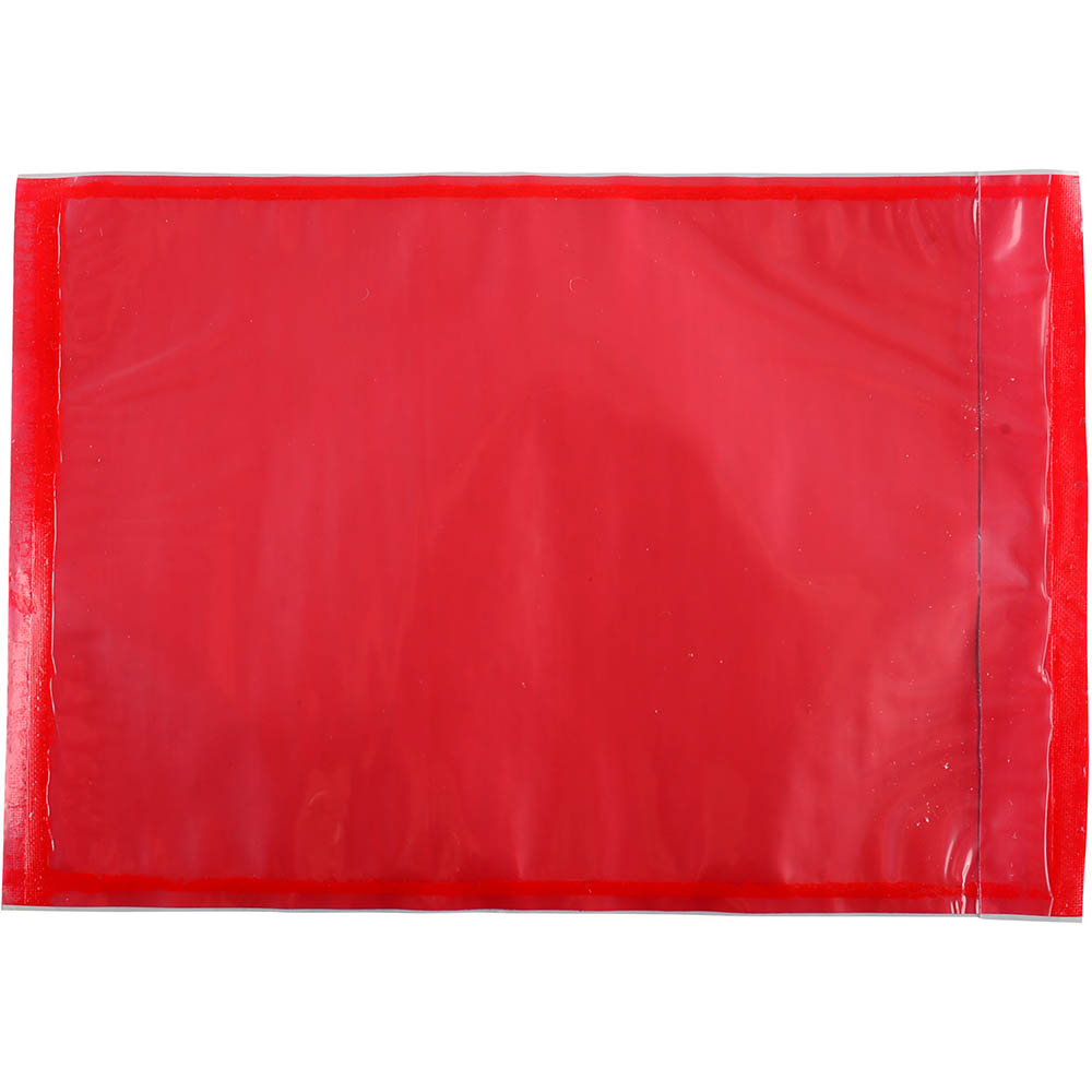 Image for CUMBERLAND PACKAGING ENVELOPE PLAIN 165 X 115MM RED PACK 1000 from Office National Kalgoorlie