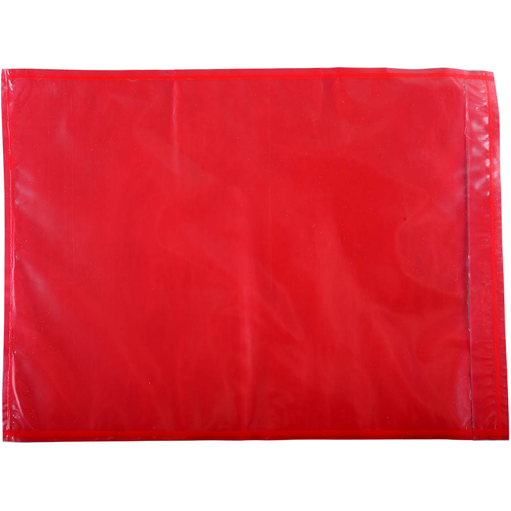 Image for CUMBERLAND PACKAGING ENVELOPE PLAIN 235 X 175MM RED PACK 1000 from The Paper Bahn Office National