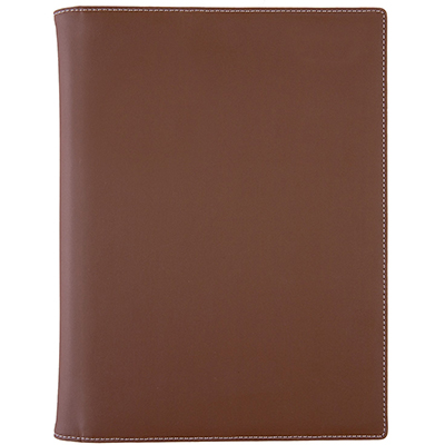 Image for DEBDEN COMPENDIUM A4 PU FASHION CHOCOLATE from Paul John Office National