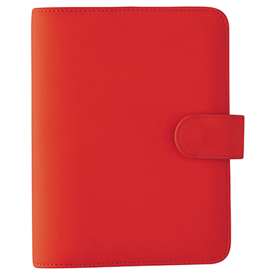 Image for DEBDEN DAYPLANNER SLIMLINE EDITION SNAP CLOSURE 162 X 82MM PU RED from Office National Perth CBD