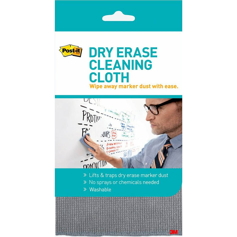 Image for POST-IT DRY ERASE CLEANING CLOTH from Coleman's Office National