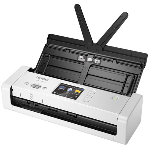 Image for BROTHER ADS-1700W WIRELESS PORTABLE DOCUMENT SCANNER from Ezi Office National Tweed